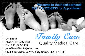 Family Doctor Postcards